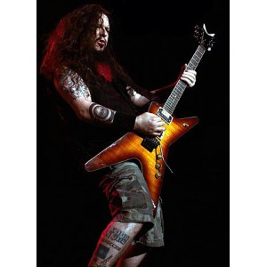 Dimebag Darrell (Pantera) - ML Wood