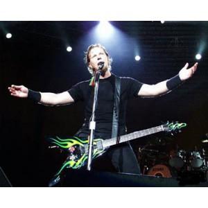 James Hetfield (Metallica) - Green Hot Rod