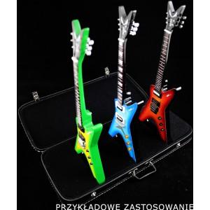 Walizka - Stojak na 3 gitary (Czarny)