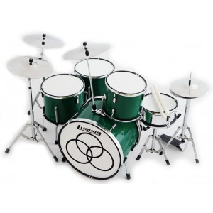 John Bonham (Led Zeppelin) - Green Sparkle